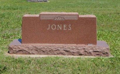 JONES, FAMILY STONE - Cowley County, Kansas   FAMILY STONE JONES - Kansas Gravestone Photos