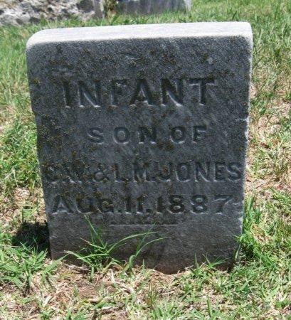 JONES, INFANT SON - Cowley County, Kansas | INFANT SON JONES - Kansas Gravestone Photos