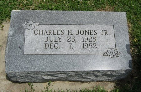JONES, CHARLES H, JR - Cowley County, Kansas | CHARLES H, JR JONES - Kansas Gravestone Photos