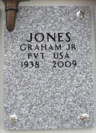 JONES , GRAHAM, JR   (VETERAN) - Cowley County, Kansas | GRAHAM, JR   (VETERAN) JONES  - Kansas Gravestone Photos
