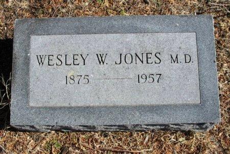 JONES, WESLEY W, M D - Cowley County, Kansas | WESLEY W, M D JONES - Kansas Gravestone Photos