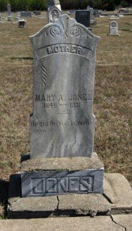 JONES, MARY ANN - Cowley County, Kansas   MARY ANN JONES - Kansas Gravestone Photos