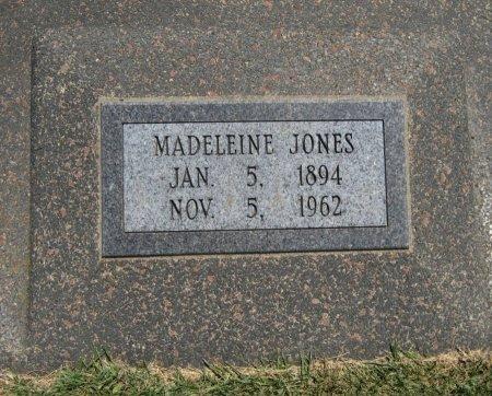 JONES, MADELEINE - Cowley County, Kansas   MADELEINE JONES - Kansas Gravestone Photos