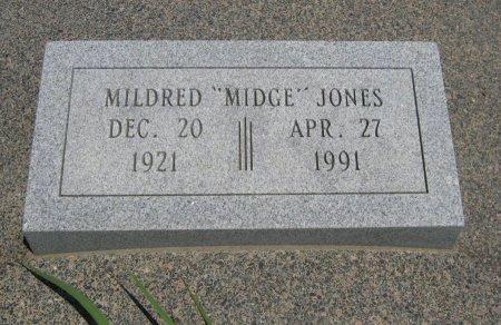 "JONES, MILDRED ""MIDGE"" - Cowley County, Kansas | MILDRED ""MIDGE"" JONES - Kansas Gravestone Photos"