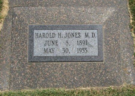 JONES ), HAROLD HUSTON, M D   (VETERAN WWI) - Cowley County, Kansas | HAROLD HUSTON, M D   (VETERAN WWI) JONES ) - Kansas Gravestone Photos