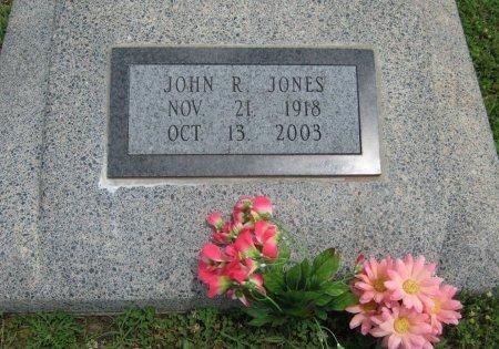JONES, JOHN R (VETERAN WWII) - Cowley County, Kansas   JOHN R (VETERAN WWII) JONES - Kansas Gravestone Photos
