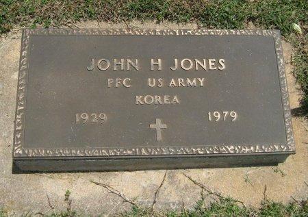 JONES, JOHN H   (VETERAN KOR) - Cowley County, Kansas   JOHN H   (VETERAN KOR) JONES - Kansas Gravestone Photos