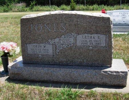 JONES, ORIN W - Cowley County, Kansas | ORIN W JONES - Kansas Gravestone Photos