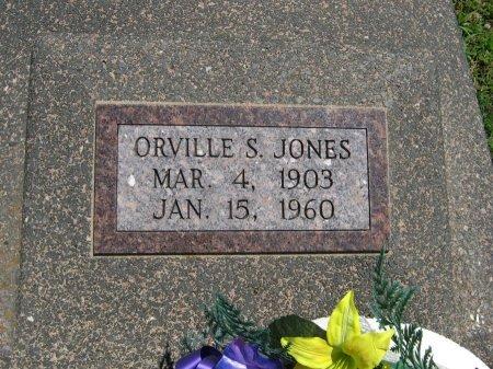 JONES, ORVILLE SYLVESTER - Cowley County, Kansas | ORVILLE SYLVESTER JONES - Kansas Gravestone Photos