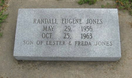 JONES, RANDALL EUGENE - Cowley County, Kansas   RANDALL EUGENE JONES - Kansas Gravestone Photos