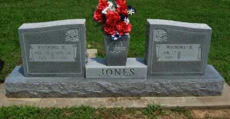 JONES, WAYNONA M - Cowley County, Kansas | WAYNONA M JONES - Kansas Gravestone Photos