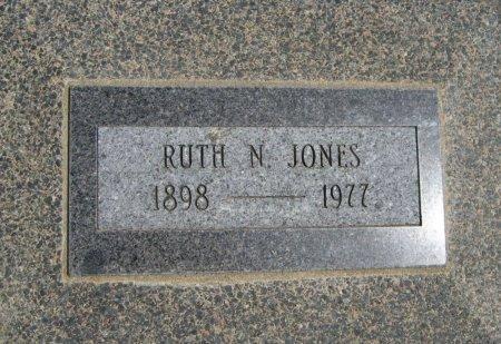 JONES, RUTH N - Cowley County, Kansas | RUTH N JONES - Kansas Gravestone Photos
