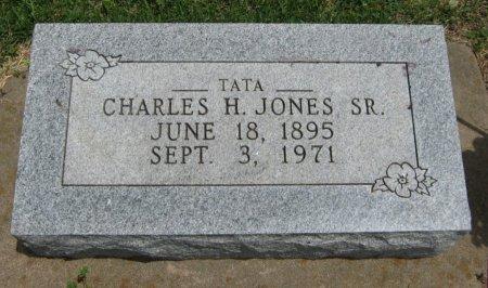 JONES, CHARLES H, SR - Cowley County, Kansas   CHARLES H, SR JONES - Kansas Gravestone Photos