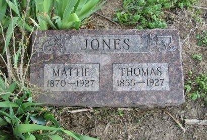 JONES, MATTIE - Cowley County, Kansas   MATTIE JONES - Kansas Gravestone Photos