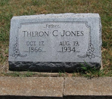 JONES, THERON CORNELL - Cowley County, Kansas | THERON CORNELL JONES - Kansas Gravestone Photos