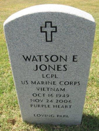 "JONES, WATSON EDGAR ""ED"" (VETERAN VIET) - Cowley County, Kansas   WATSON EDGAR ""ED"" (VETERAN VIET) JONES - Kansas Gravestone Photos"