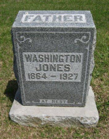 JONES, WASHINGTON - Cowley County, Kansas   WASHINGTON JONES - Kansas Gravestone Photos