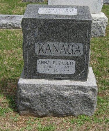 KANAGA, CHARLES GRUB - Cowley County, Kansas   CHARLES GRUB KANAGA - Kansas Gravestone Photos