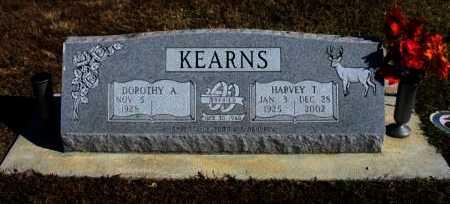 KEARNS, HARVEY THOMAS - Cowley County, Kansas   HARVEY THOMAS KEARNS - Kansas Gravestone Photos