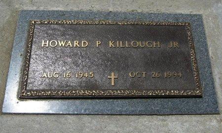 KILLOUGH, HOWARD PATRICK, JR (VETERAN) - Cowley County, Kansas   HOWARD PATRICK, JR (VETERAN) KILLOUGH - Kansas Gravestone Photos