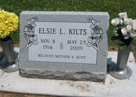 EUDALY KILTS, ELSIE L - Cowley County, Kansas | ELSIE L EUDALY KILTS - Kansas Gravestone Photos