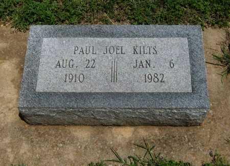 KILTS, PAUL JOEL - Cowley County, Kansas   PAUL JOEL KILTS - Kansas Gravestone Photos