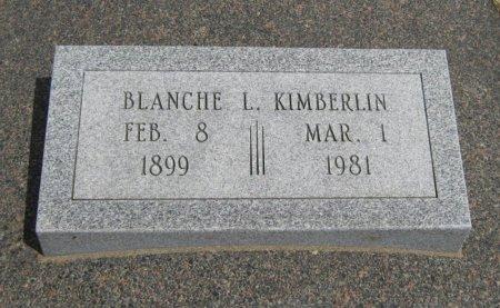 KIMBERLIN, BLANCHE LEIGH - Cowley County, Kansas | BLANCHE LEIGH KIMBERLIN - Kansas Gravestone Photos