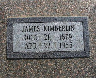 KIMBERLIN, JAMES  - Cowley County, Kansas | JAMES  KIMBERLIN - Kansas Gravestone Photos