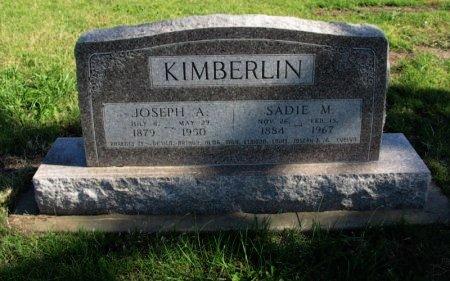 KIMBERLIN, SADIE M - Cowley County, Kansas | SADIE M KIMBERLIN - Kansas Gravestone Photos