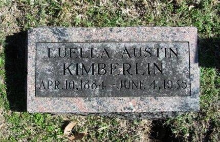 KIMBERLIN, LUELLA ROSE - Cowley County, Kansas | LUELLA ROSE KIMBERLIN - Kansas Gravestone Photos