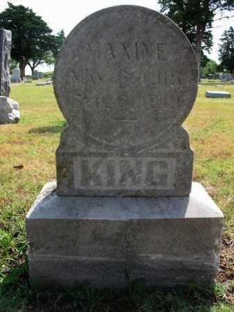 KING, BERTHA MAXINE - Cowley County, Kansas | BERTHA MAXINE KING - Kansas Gravestone Photos