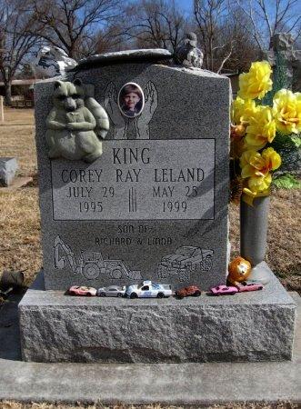 KING, COREY RAY LELAND - Cowley County, Kansas | COREY RAY LELAND KING - Kansas Gravestone Photos
