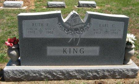 KING, RUTH FLORENCE - Cowley County, Kansas | RUTH FLORENCE KING - Kansas Gravestone Photos