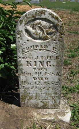 KING, EDWARD R - Cowley County, Kansas | EDWARD R KING - Kansas Gravestone Photos