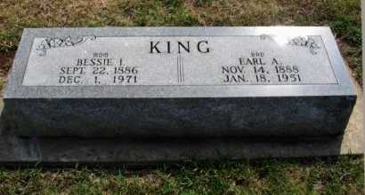 KING, BESSIE I - Cowley County, Kansas | BESSIE I KING - Kansas Gravestone Photos