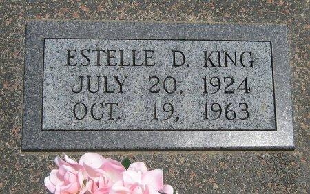 KING, ESTELLE - Cowley County, Kansas | ESTELLE KING - Kansas Gravestone Photos