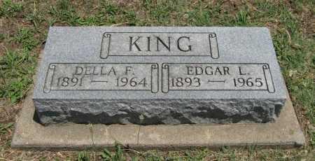 KING, DELLA F - Cowley County, Kansas | DELLA F KING - Kansas Gravestone Photos