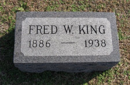 KING, FRED WEAVER - Cowley County, Kansas | FRED WEAVER KING - Kansas Gravestone Photos