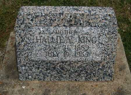 KING, HALLIE VIOLET - Cowley County, Kansas | HALLIE VIOLET KING - Kansas Gravestone Photos