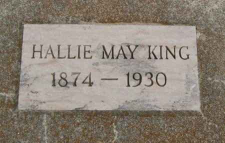 KING, HALLIE MAY - Cowley County, Kansas | HALLIE MAY KING - Kansas Gravestone Photos