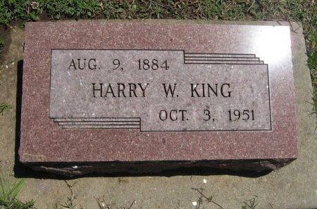 KING, HARRY W - Cowley County, Kansas | HARRY W KING - Kansas Gravestone Photos