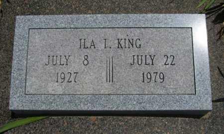 KING, ILA I - Cowley County, Kansas | ILA I KING - Kansas Gravestone Photos