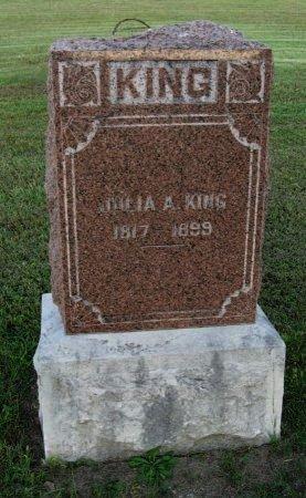 KING, JULIA A - Cowley County, Kansas | JULIA A KING - Kansas Gravestone Photos