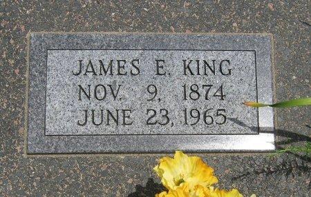 KING, JAMES ERBIE - Cowley County, Kansas | JAMES ERBIE KING - Kansas Gravestone Photos