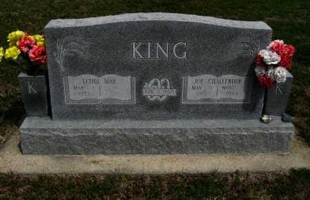 KING, JOE CHALLENDER  (VETERAN) - Cowley County, Kansas | JOE CHALLENDER  (VETERAN) KING - Kansas Gravestone Photos