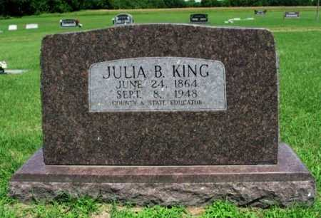 KING, JULIA B - Cowley County, Kansas | JULIA B KING - Kansas Gravestone Photos