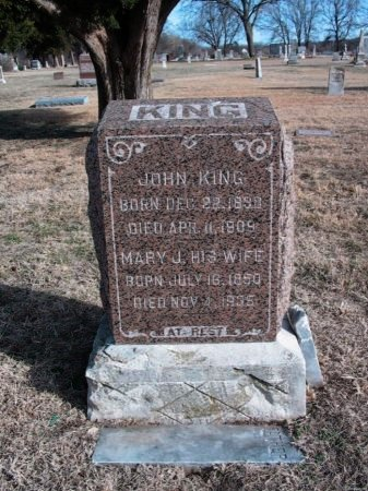 KING, MARY JANE - Cowley County, Kansas | MARY JANE KING - Kansas Gravestone Photos