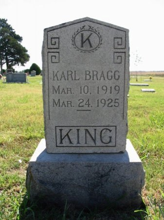 KING, KARL BRAGG, JR - Cowley County, Kansas | KARL BRAGG, JR KING - Kansas Gravestone Photos
