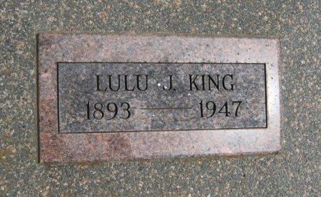 KING, LULU JEMIMA - Cowley County, Kansas | LULU JEMIMA KING - Kansas Gravestone Photos