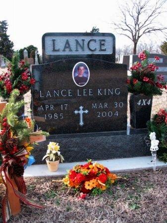 KING, LANCE LEE - Cowley County, Kansas | LANCE LEE KING - Kansas Gravestone Photos